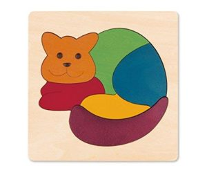 Hape George Luck Rainbow Puzzle