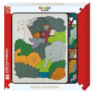 Hape George Luck Animals Puzzle