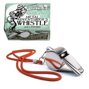 House of Marbles Adventurer's Pocket Metal Whistle