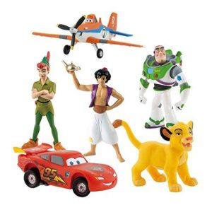Bullyland Bumper Set of 6 Disney Characters