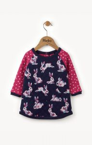 Hatley Bunny Hop Mini Quilted Dress