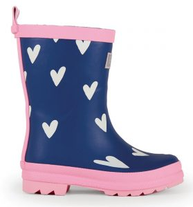Hatley Sprinkled Hearts Rainboots