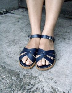 Adults Salt Water Navy Original Sandals