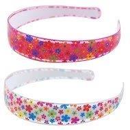 Pink Poppy C-Glitter Flower Headband