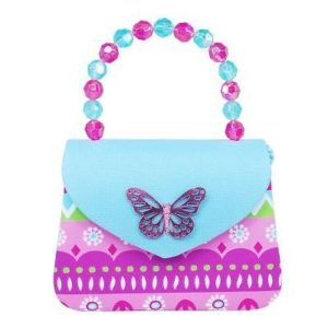 Pink Poppy Fiesta Hard Handbag Blue