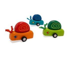 I'm Toy Pull Back & Go Speedy Snail (One Supplied)