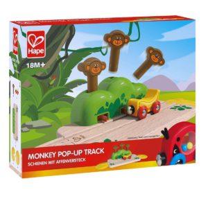 Hape Monkey Pop-Up Track