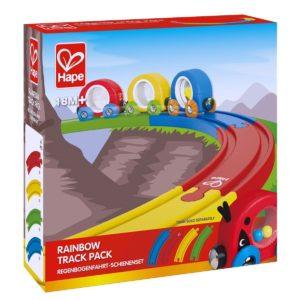 Hape Rainbow Track Pack