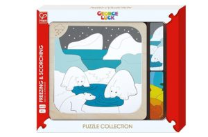 Hape George Luck Freezing & Scorching Puzzle