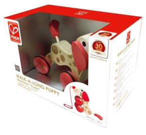 Hape 30th Anniversary Limited Edition Walk-A-Long Puppy