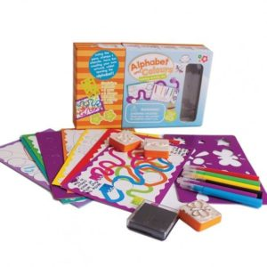 Alphabet and Colours Learning Activity Set