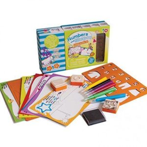 Numbers and Shapes Learning Activity Set