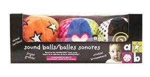 Kids Preferred Amazing Baby Sound Balls Chime Jingle Crinkle