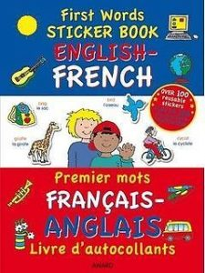 First Words English and French Sticker & Activity Book