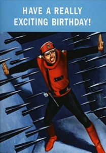 Hype Captain Scarlet 'Have A Really Exciting Birthday' Card