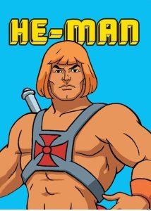 Hype He-Man Greeting Card