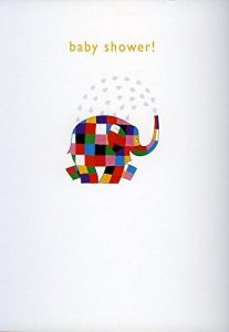 Hype Elmer Baby Shower Card