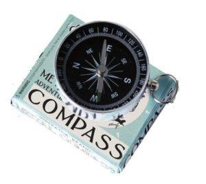 Adventurer's Metal Compass