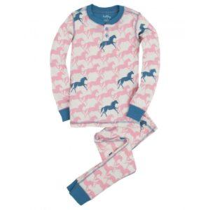 Hatley Girls (Ovl) Pyjamas Show Horses Age 2