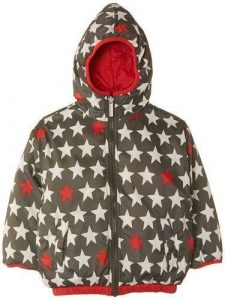 Hatley Boys Reversible Winter Puffer – Bright Stars – 2 Years