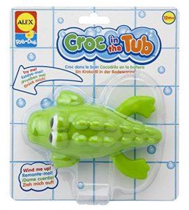 Alex Croc in the Tub