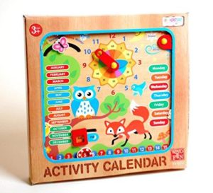 Ackerman Wooden Activity Calendar