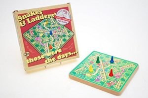 Ackerman Snakes and Ladders by Prof. Warbles
