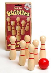 Ackerman Retro Desk Top Skittles by Prof. Warbles