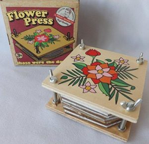 Ackerman's Wooden Flower Press