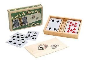 Ackerman Traditions Card & Dice Set
