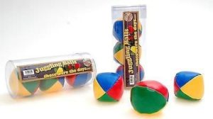 Ackerman Set of 3 Juggling Balls by Prof. Warbles