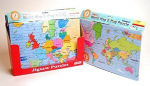 Ackerman's World Map Jigsaw Puzzle