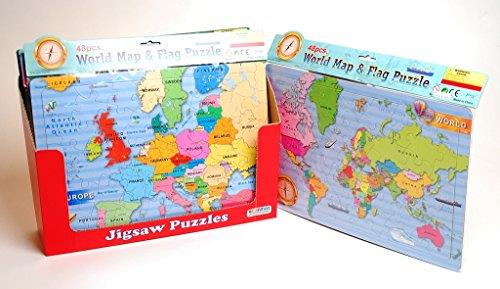 Ackermans world map jigsaw puzzle catfish kids gumiabroncs Image collections
