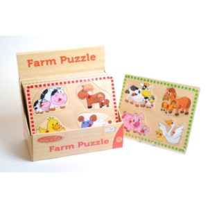 Ackerman Farm Mother & Baby Puzzle (One Supplied)