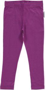 Maxomorra Plain Purple Leggings