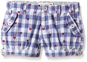 Hatley Purple Gingham Bloomer Shorts