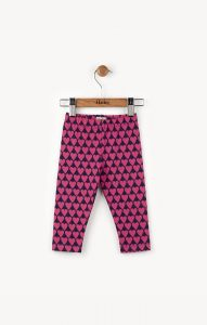 Hatley Pink Hearts Mini Leggings