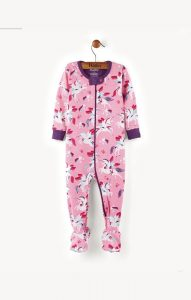 Hatley Winged Unicorns Footed Coverall