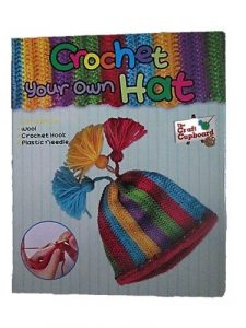 The Craft Cupboard Crochet Your Own Hat Kit / Set