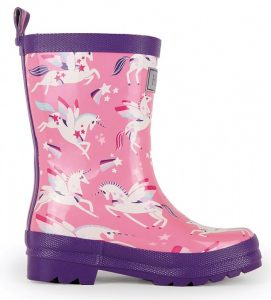 Hatley Winged Unicorn Rainboots