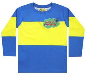 Fabric Flavours Horrid Henry Long Sleeve Top