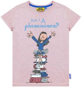 Fabric Flavours Roald Dahl Matilda Am I A Phenomenon? T shirt
