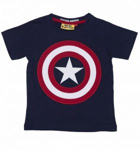 Fabric Flavours Captain America T Shirt