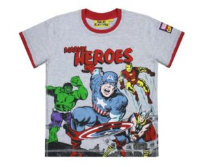 Fabric Flavours Marvel Heroes Comic T Shirt