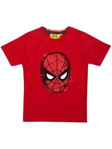 Fabric Flavours Spiderman Web Slinger T Shirt