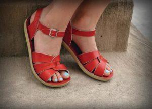 Adults Salt Water Red Original Sandals