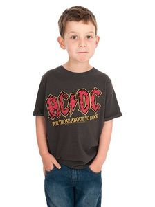 Amplified AC DC For Those About To Rock T Shirt