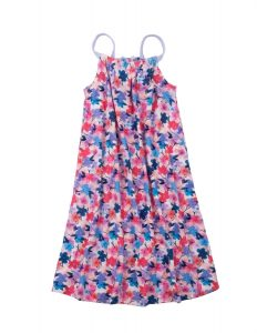 'NEW Hatley Floral Bow Back Strappy Sun Dress Soft Cotton Holiday Summer BNWT'