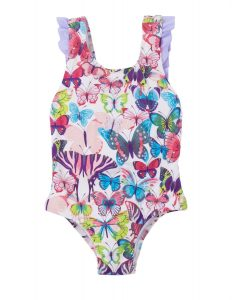 Hatley Colourful Butterflies SPF50 Swimsuit