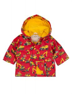 Hatley Red Heavy Duty Machinery Infant Raincoat